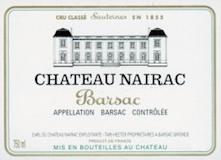 Château Nairac  Deuxième Cru label