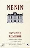 Château Nénin  label
