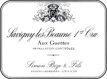 Domaine Simon Bize et Fils Savigny-lès-Beaune Premier Cru Aux Guettes label