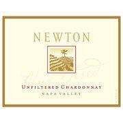 Newton Vineyard Unfiltered Chardonnay label