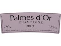 Nicolas Feuillatte Palmes d'Or Rosé label