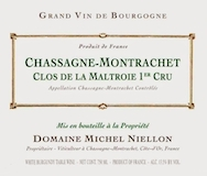 Domaine Michel Niellon Chassagne-Montrachet Premier Cru La Maltroie label