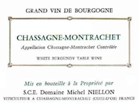 Domaine Michel Niellon Chassagne-Montrachet  label