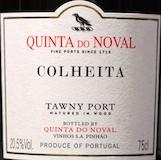 Quinta do Noval Porto  Colheita Port label