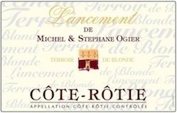Domaine Michel et Stéphane Ogier Côte Rôtie Lancement label