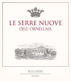 Ornellaia Le Serre Nuove dell'Ornellaia label
