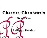 Philippe Pacalet Charmes-Chambertin Grand Cru  label