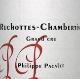 Philippe Pacalet Ruchottes-Chambertin Grand Cru  label