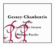Philippe Pacalet Gevrey-Chambertin Premier Cru Lavaux Saint-Jacques label