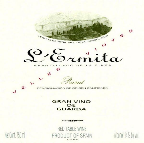 Alvaro Palacios L'Ermita label