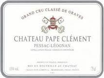 Château Pape Clément  Cru Classé de Graves label
