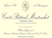 Blain-Gagnard Criots-Bâtard-Montrachet Grand Cru  label