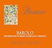 Parusso Barolo Mariondino label