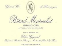 Blain-Gagnard Bâtard-Montrachet Grand Cru  label
