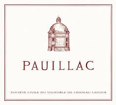 Château Latour Le Pauillac de Château Latour label