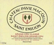 Château Pavie-Macquin  Premier Grand Cru Classé B label