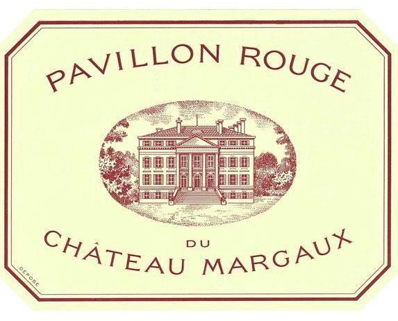 Château Margaux Pavillon Rouge label