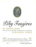Château Péby Faugères  Grand Cru Classé label