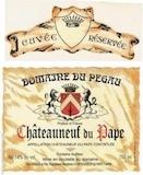 Domaine du Pegau Châteauneuf-du-Pape Cuvée Réservée label