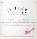 Penfolds St. Henri Shiraz label
