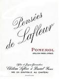 Château Lafleur Pensées de Lafleur label