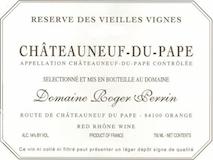 Domaine Roger Perrin Châteauneuf-du-Pape Réserve Vieilles Vignes label