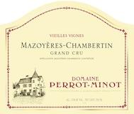 Domaine Perrot-Minot Mazoyères-Chambertin Grand Cru Vieilles vignes label