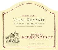 Domaine Perrot-Minot Vosne-Romanée Premier Cru Les Beaux Monts Vieilles Vignes label