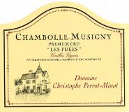 Domaine Perrot-Minot Chambolle-Musigny Premier Cru Les Fuées Vieilles Vignes label
