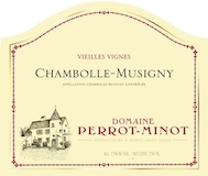 Domaine Perrot-Minot Chambolle-Musigny Vieilles Vignes label