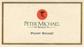 Peter Michael Point Rouge Chardonnay label