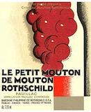 Château Mouton Rothschild Le Petit Mouton label