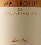 Bodegas Emilio Moro Malleolus de Valderramiro label