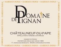 Domaine de Pignan Châteauneuf-du-Pape Cuvée Traditionnelle label