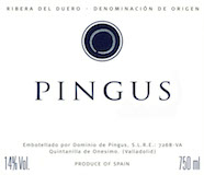 Dominio de Pingus Pingus label