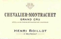 Maison Henri Boillot Chevalier-Montrachet Grand Cru  label
