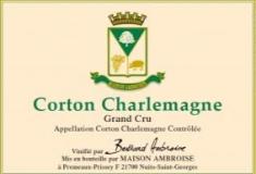 Maison Bertrand Ambroise Corton-Charlemagne Grand Cru  label