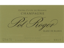 Pol Roger Blanc de Blancs Grand Cru label