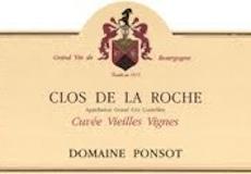Domaine Ponsot Clos de la Roche Grand Cru Cuvée Vieilles vignes label