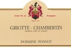Domaine Ponsot Griotte-Chambertin Grand Cru  label