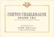 Maison Henri Boillot Corton-Charlemagne Grand Cru  label