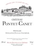 Château Pontet-Canet  Cinquième Cru label