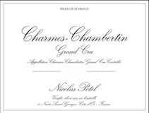 Maison Nicolas Potel Charmes-Chambertin Grand Cru  label