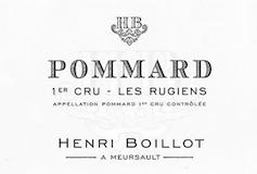 Maison Henri Boillot Pommard Premier Cru Les Rugiens label