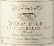 Domaine de la Pousse d'Or Volnay Premier Cru Clos de la Bousse-d'Or label