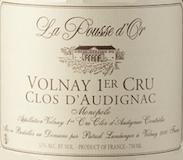 Domaine de la Pousse d'Or Volnay Premier Cru Clos de l'Audignac label