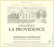 Château La Providence  label