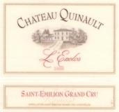 Château Quinault l' Enclos  Grand Cru Classé label