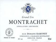 Domaine Ramonet Montrachet Grand Cru  label