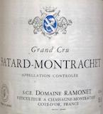 Domaine Ramonet Bâtard-Montrachet Grand Cru  label